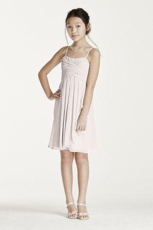 White Short Chiffon Dress