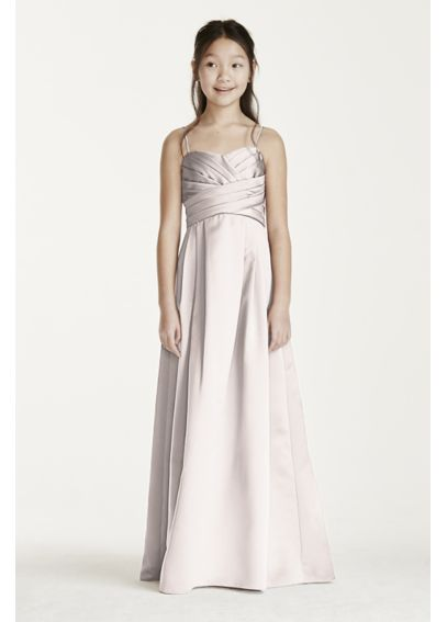 Long Ball Gown with Spaghetti Straps WJB0692