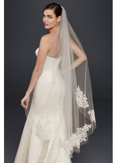 Lace Walking Veil WPD20284