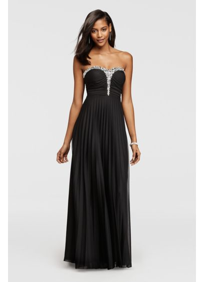 Long A-Line Strapless Formal Dresses Dress - Speechless