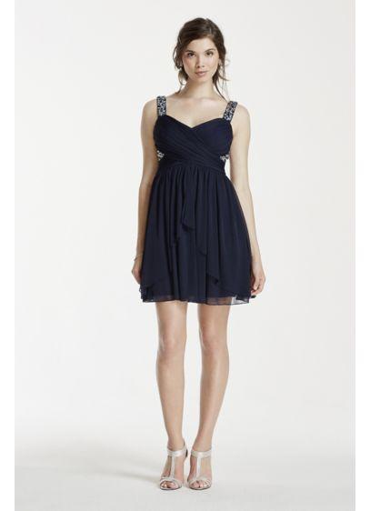 Short A-Line Tank Prom Dress - Speechless