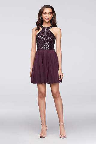 Purple Prom Dresses: Short & Long Lengths | David's Bridal