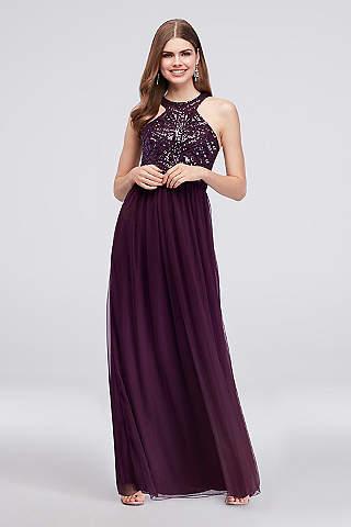 Short Purple Formal Dress