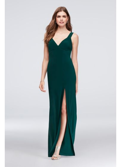 Long Sheath Tank Prom Dress - Speechless