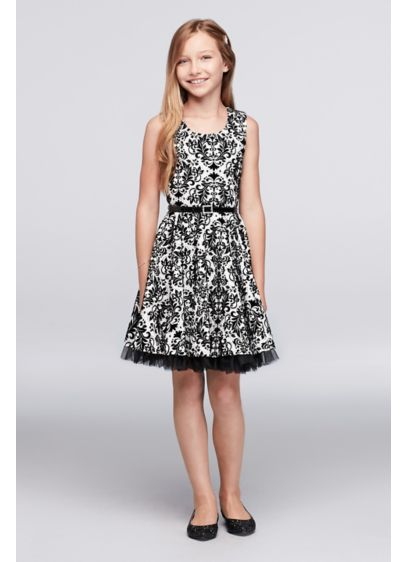 Short Black Soft & Flowy Beautees Bridesmaid Dress