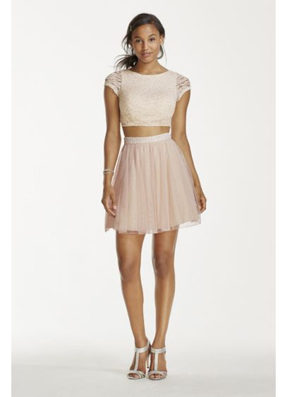 Short A-Line Cap Sleeves Cocktail and Party Dress - Speechless