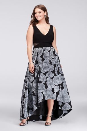 Hi lo dress plus size