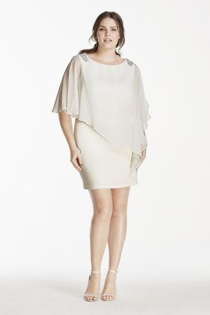 Bridal Short Jersey Dress