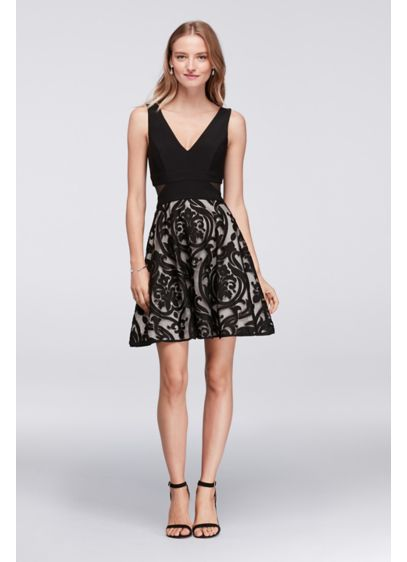 Short A-Line Tank Cocktail and Party Dress - Xscape