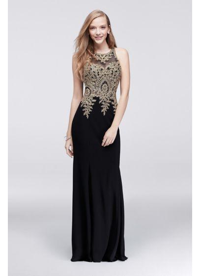 Long Mermaid/ Trumpet Halter Prom Dress - Xscape