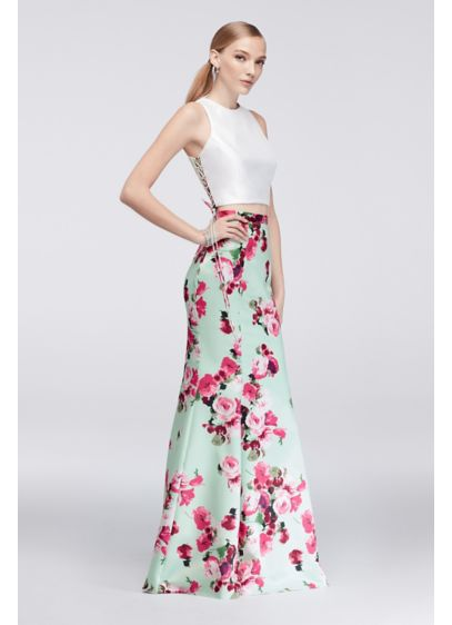 Long Mermaid/ Trumpet Tank Prom Dress - Xscape