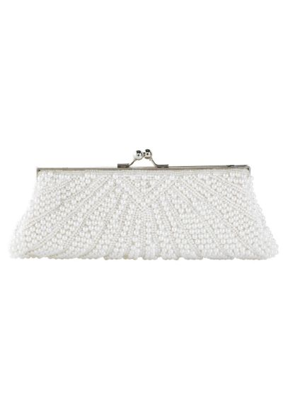 Pearl encrusted clutch YF019
