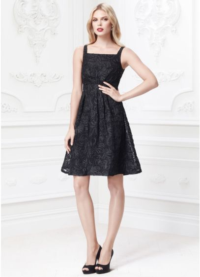 Short A-Line Tank Cocktail and Party Dress - Truly Zac Posen