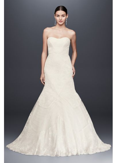 Truly Zac Posen Geometric Corded Wedding Dress ZP341417