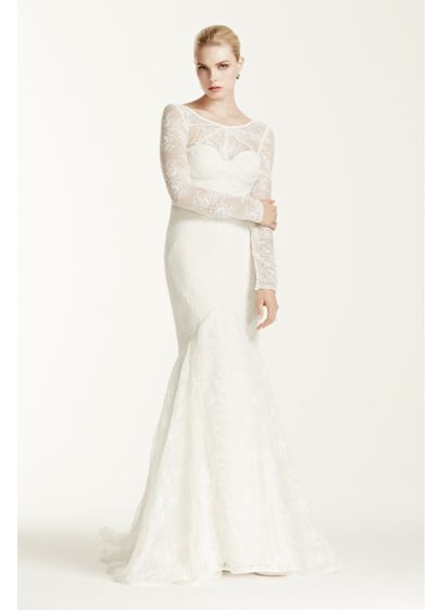 Long Mermaid/ Trumpet Modern Chic Wedding Dress - Truly Zac Posen