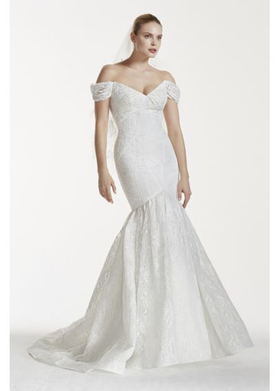 Truly Zac Posen Lace V-Back Wedding Dress ZP341554