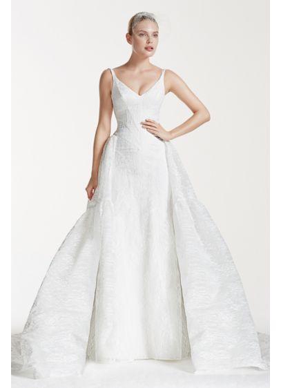 Truly Zac Posen Tank Bonded Lace Wedding Dress | David\'s Bridal