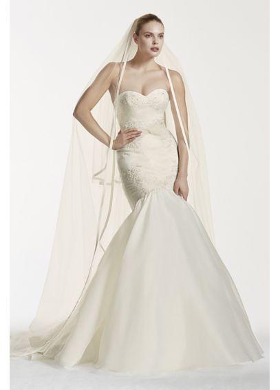 Truly zac posen mermaid wedding dress with lace davids for Zac posen wedding dresses