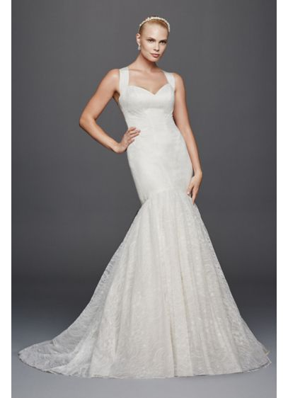 Truly zac posen criss cross back wedding dress david 39 s for Zac posen wedding dress price