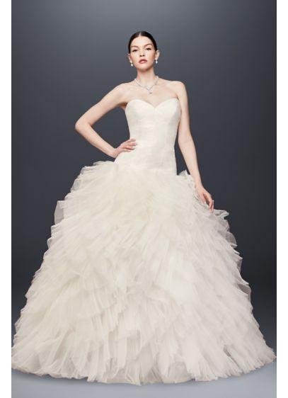Long Ballgown Glamorous Wedding Dress - Truly Zac Posen