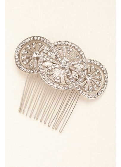 Truly Zac Posen Art Deco Hair Comb - Wedding Accessories
