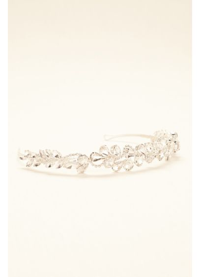 Truly Zac Posen Crystal Cluster Headband - Wedding Accessories