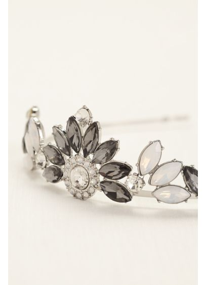 Bold Crystal Tiara - Wedding Accessories