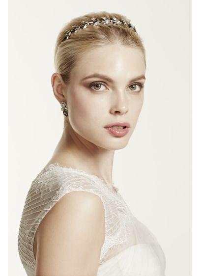 Grey Stone Headband - Wedding Accessories