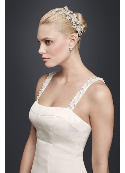 Sunburst Crystal Comb - Wedding Accessories