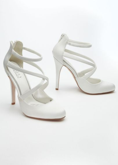 Strappy Closed Toe Platform ZP621454