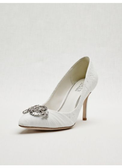 Closed Toe Lace Pump - Wedding Accessories