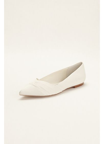 Truly Zac Posen Pleated Flats - Wedding Accessories