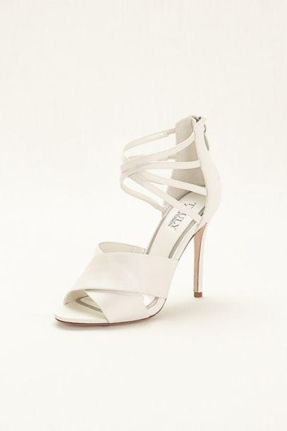 Truly Zac Posen Strappy High Heel Sandals | David's Bridal