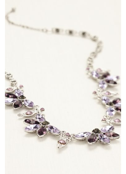 Crystal Chain Statement Necklace - Wedding Accessories