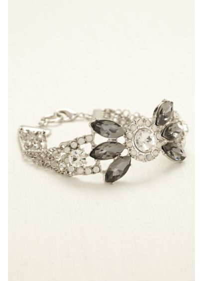 Multi Stone Toggle Bracelet - Wedding Accessories
