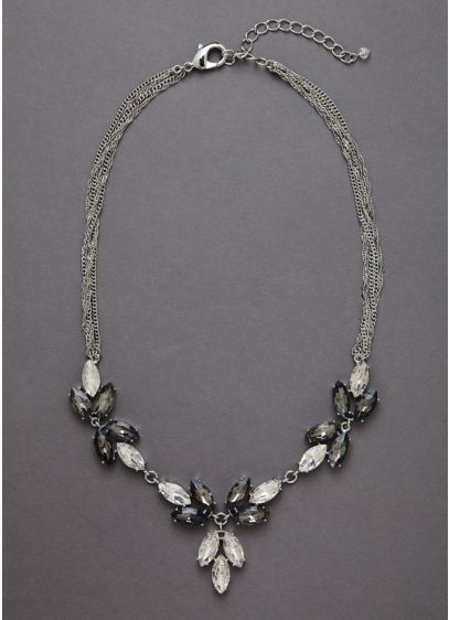 Crystal Geometric Necklace - Wedding Accessories