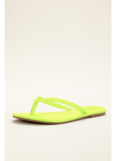 David's Bridal Green (Zoey Flip Flop)