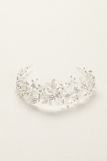 Moldable Crystal Tiara T75