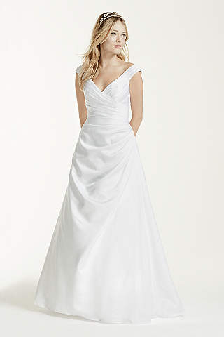 V-Neck Wedding Dresses &amp- Gowns - David&-39-s Bridal