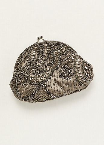 Asymmetrical Beaded Handbag TAJ