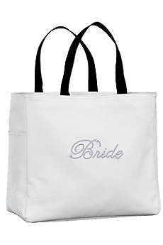 Rhinestone Bride Tote Bag
