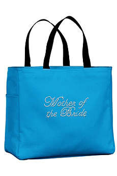 Rhinestone Mother of the Bride Tote Bag