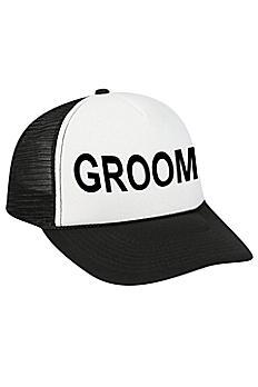 Groom Trucker Hat TRUCKERCAP-GR
