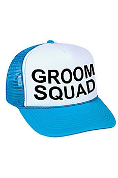 Groom Squad Trucker Hat TRUCKERCAP-GS