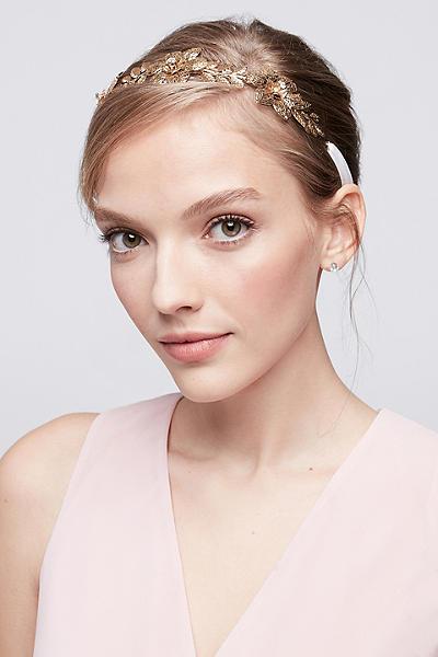 filigree flower tieback headband v14709hb