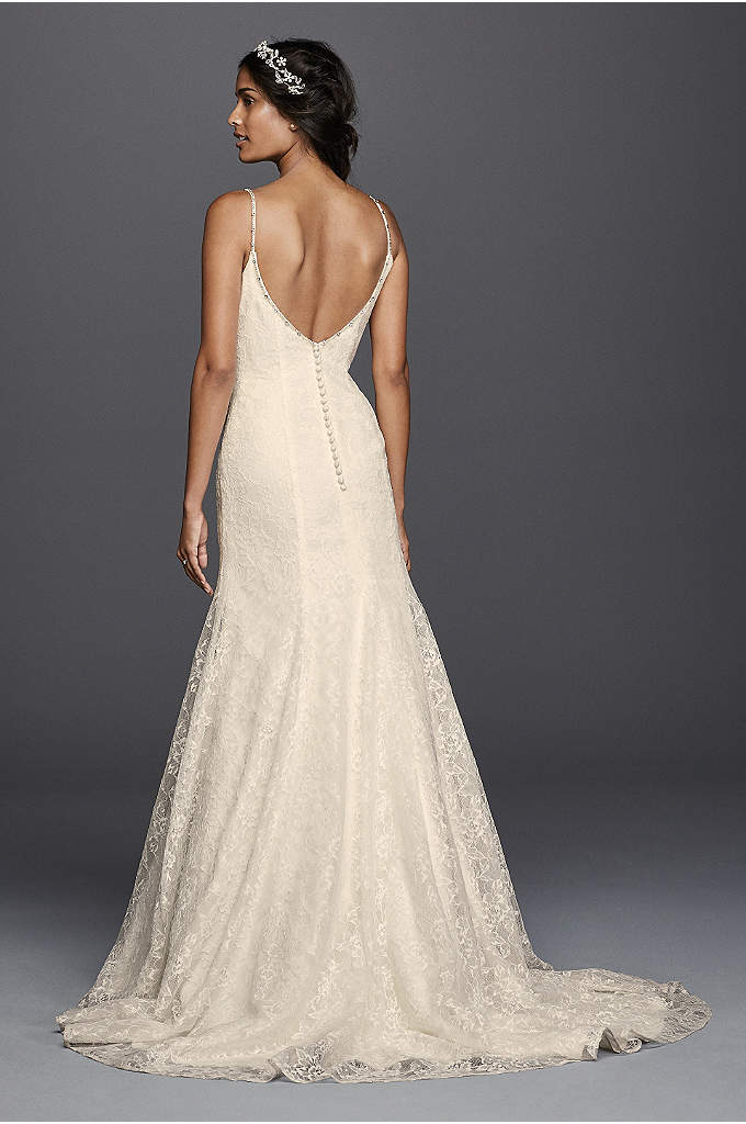 Melissa Sweet Melissa Sweet Organza Lace Trumpet Gown ... - photo #6