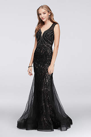 Black Prom Dresses: Short & Long Styles | David's Bridal
