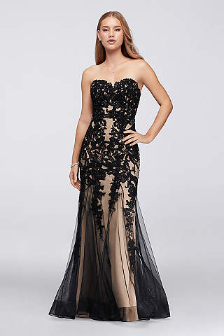 Black Prom Dresses: Short & Long Styles | David's Bridal