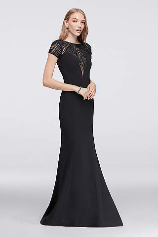 Black Evening Dresses & Gowns: Short & Long | David's Bridal