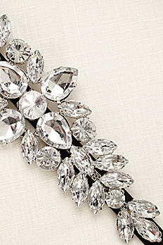 Large Stretch Faceted Stone Headband VE171769